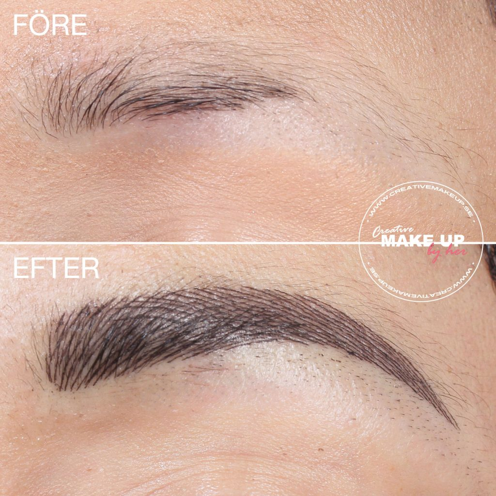 Different methods for tattooed eyebrows