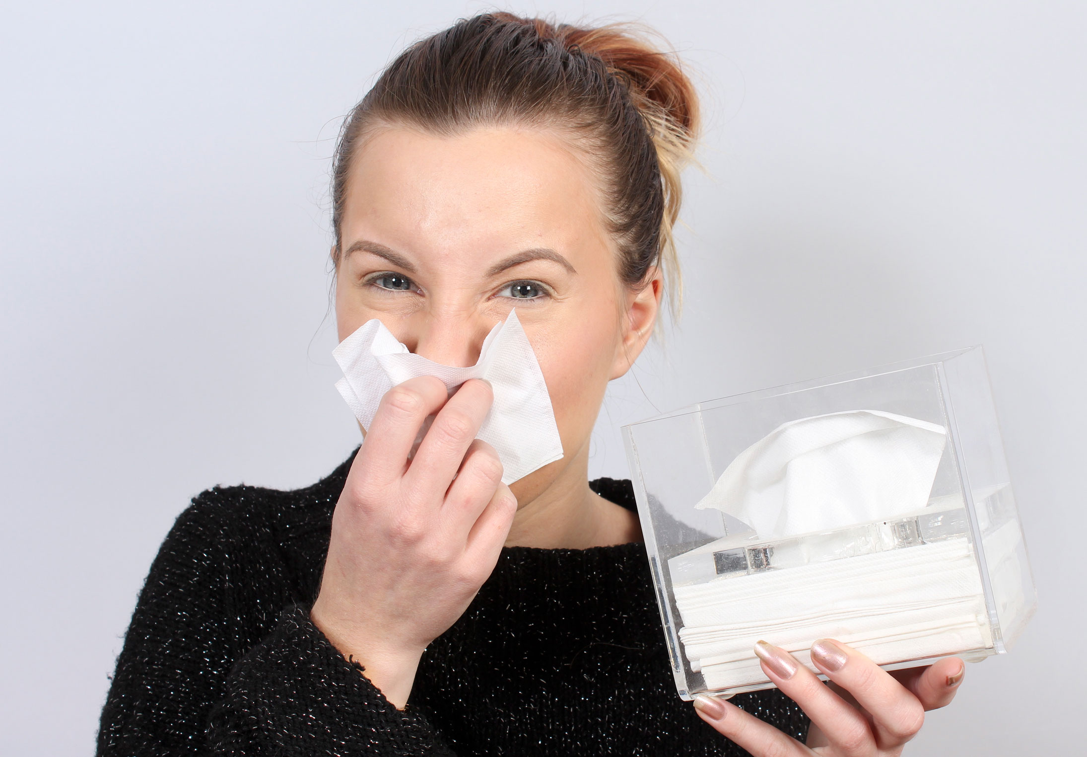 varför rinner ögonen vid förkylning
