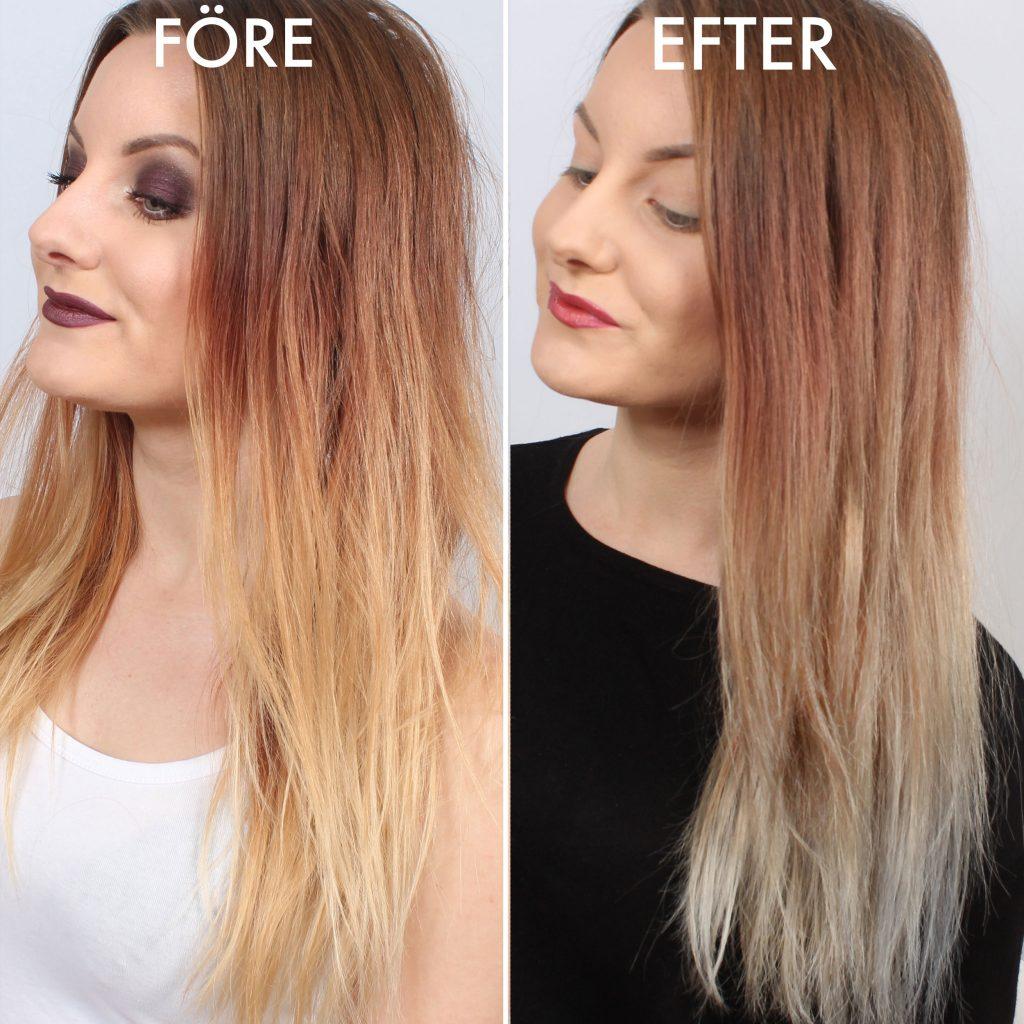 hur länge ska hårfärg sitta i