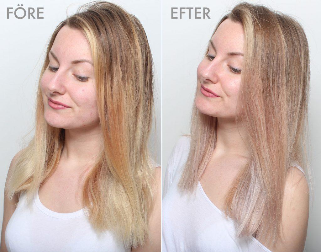 färga av håret hemma