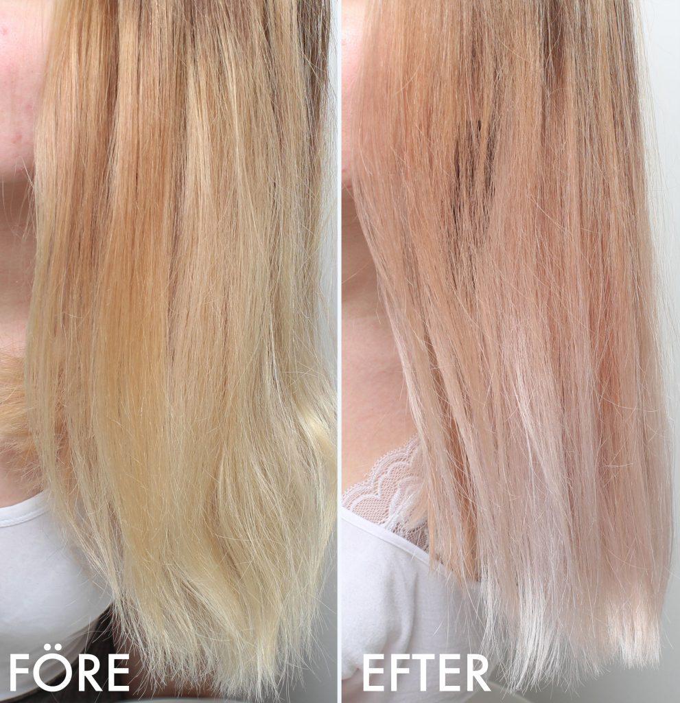 deshacerse del cabello amarillo