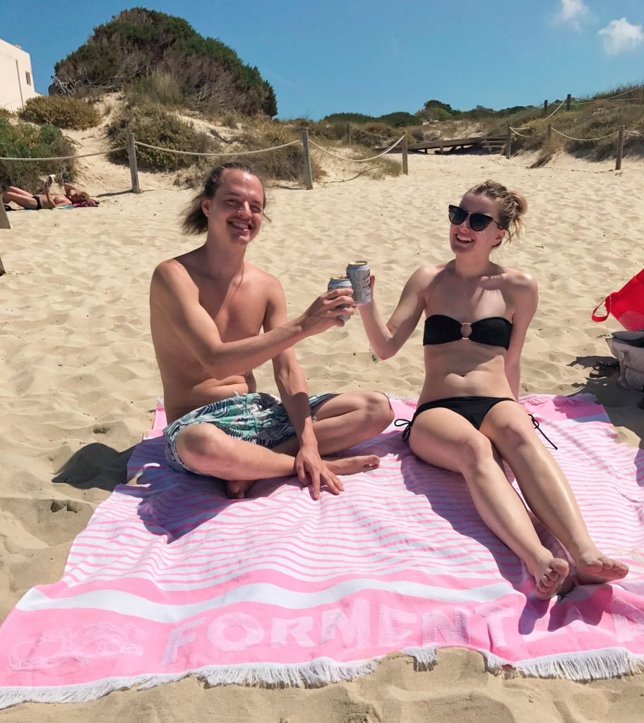 viaje sorpresa playa formentera