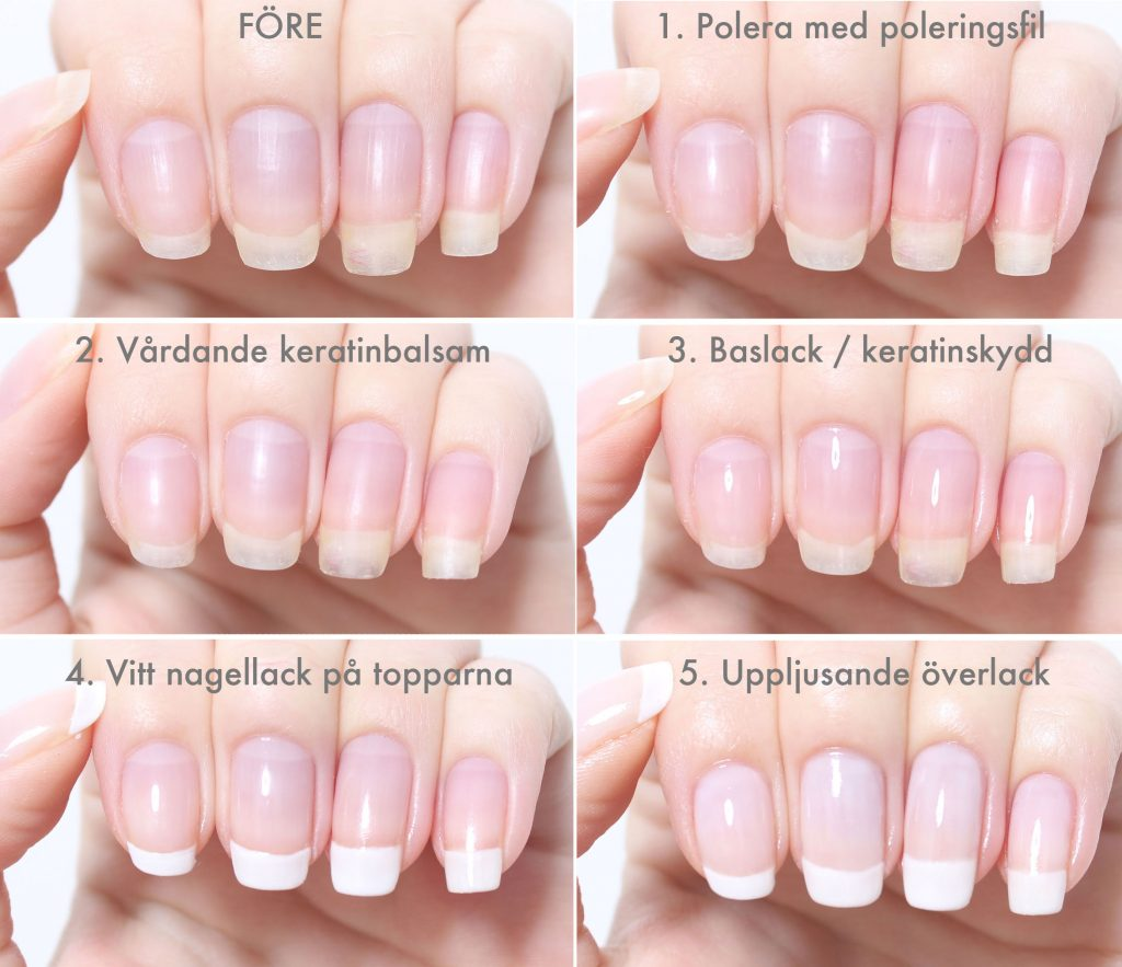 Fix long and healthy nails at home step by step
