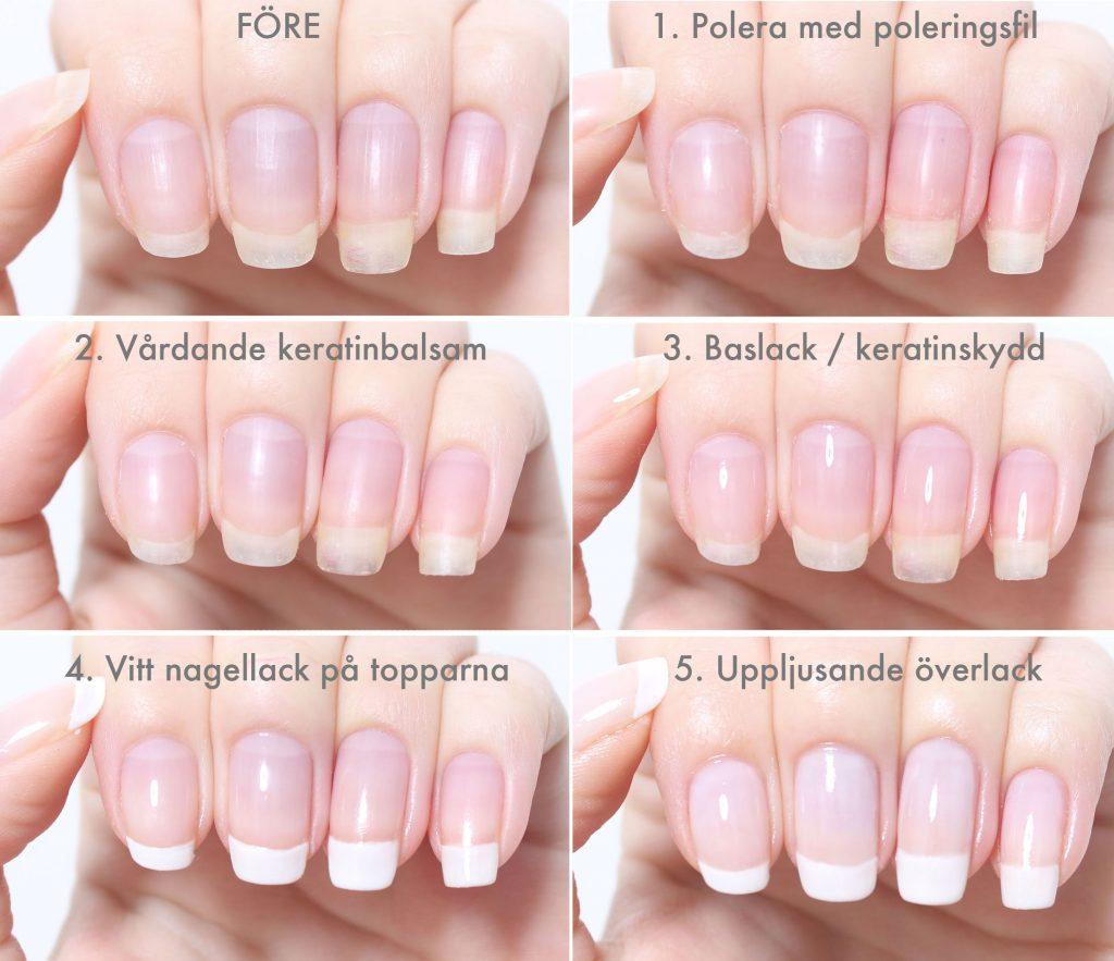 Arregle las uñas largas y saludables en casa paso a paso