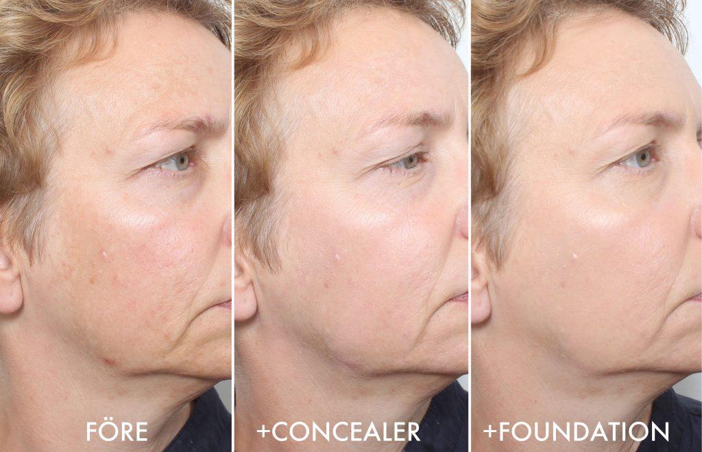 Maquillaje manchas de pigmento 3 pasos