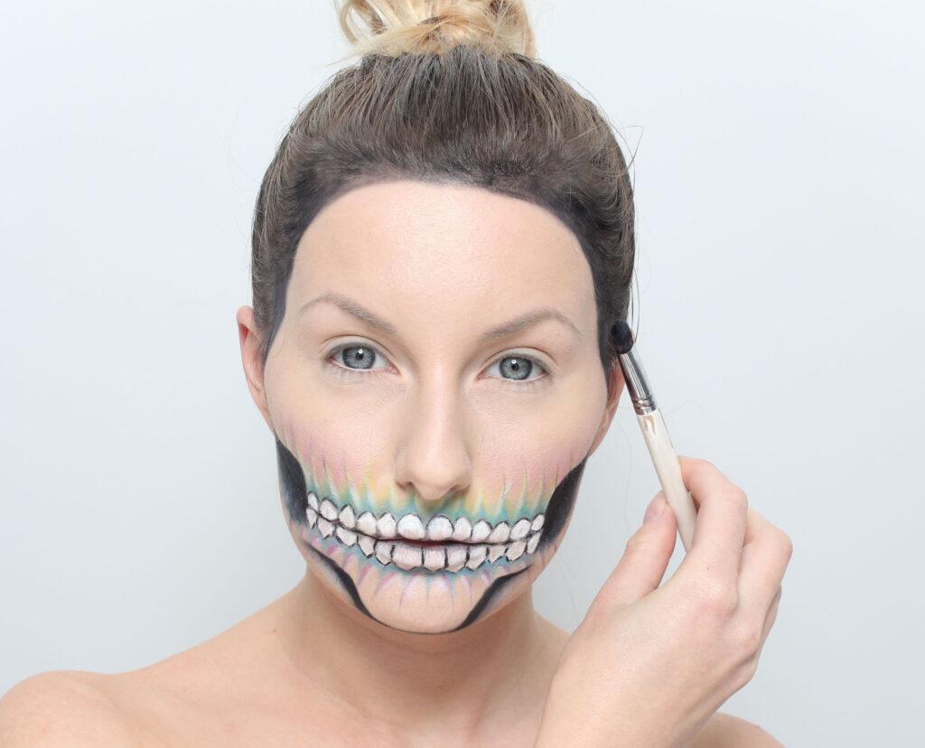 halloween Colorful Skull Makeup