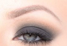 Perrie Edwards Smokey Eye