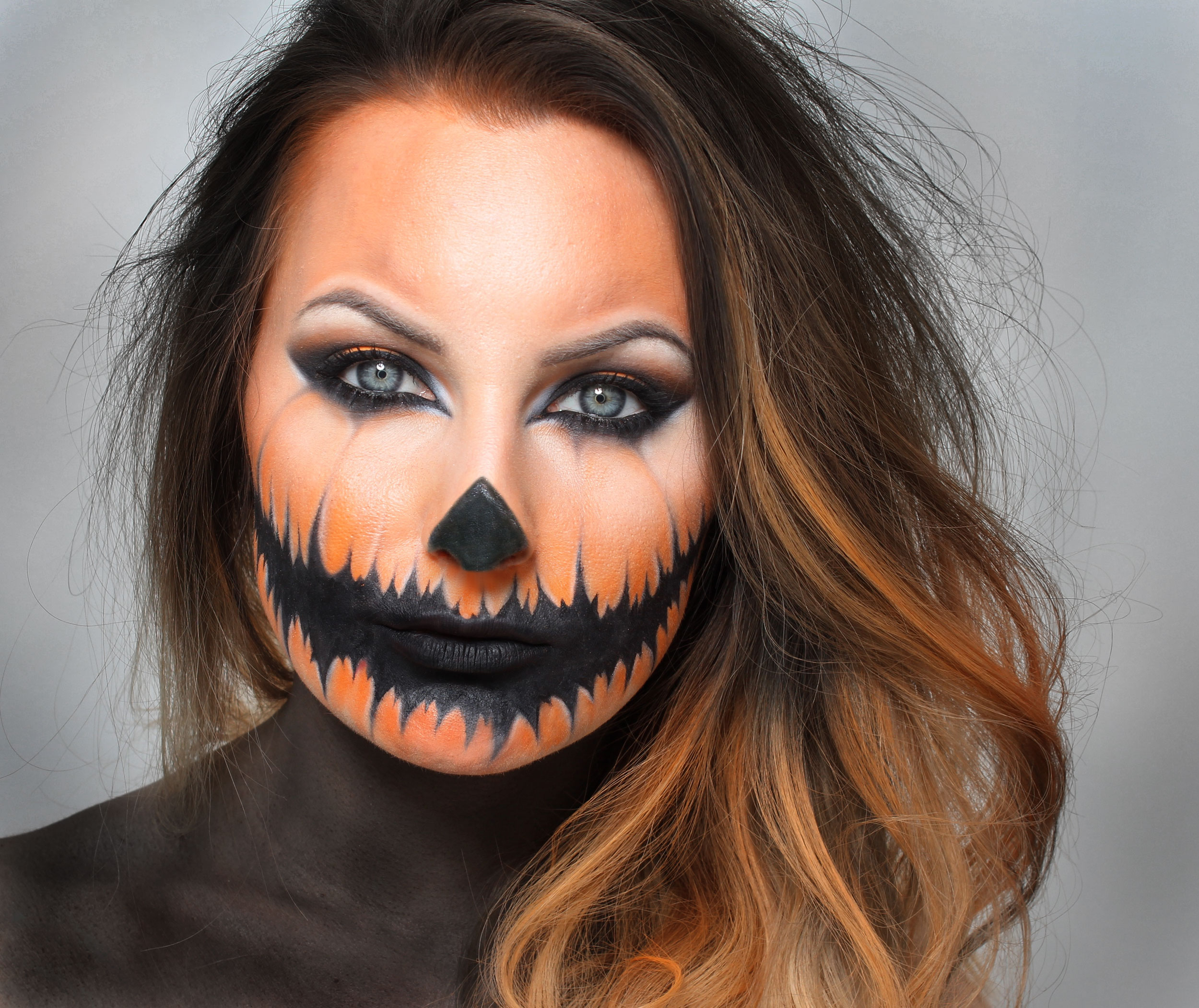 Halloween Pumpkin Makeup Tutorial  b94d442e9dbac
