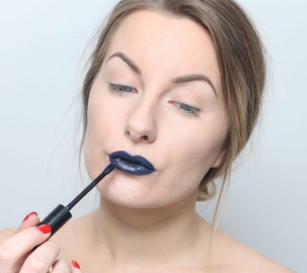 blå om läpparna
