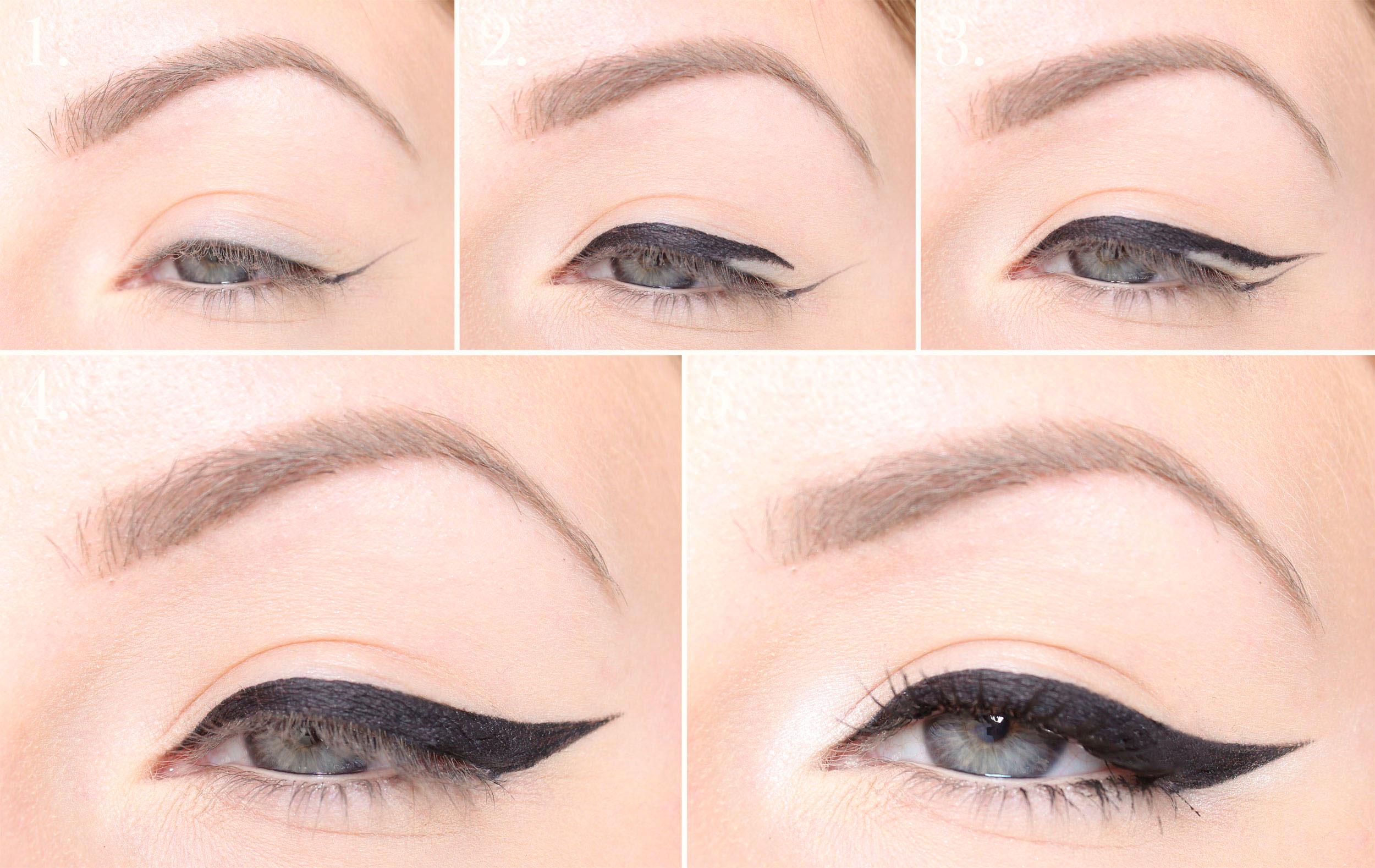 Eyeliner tutorial - How to apply eyeliner?