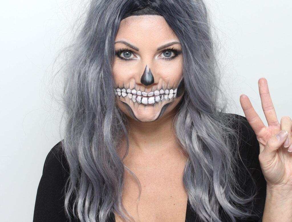 Halloween makeup - Skeleton / Skull / Skull