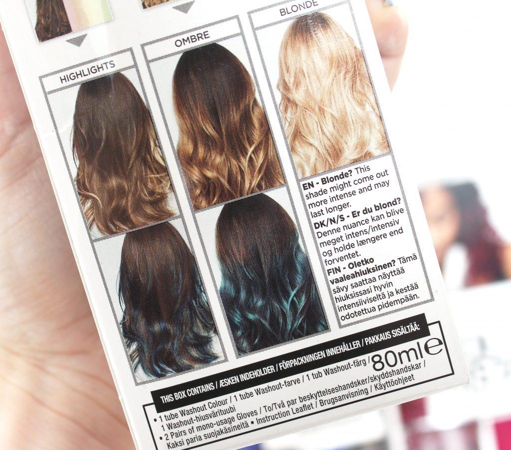 L'Oréal Paris Colorista Washout en cabello decolorado