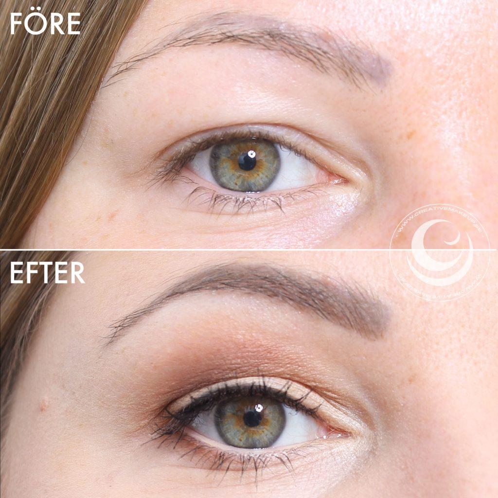 maquillar los ojos encapuchados