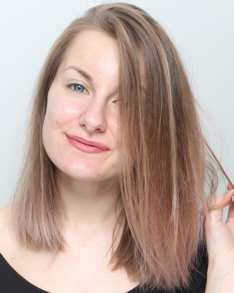 få bort lila skiftningar håret
