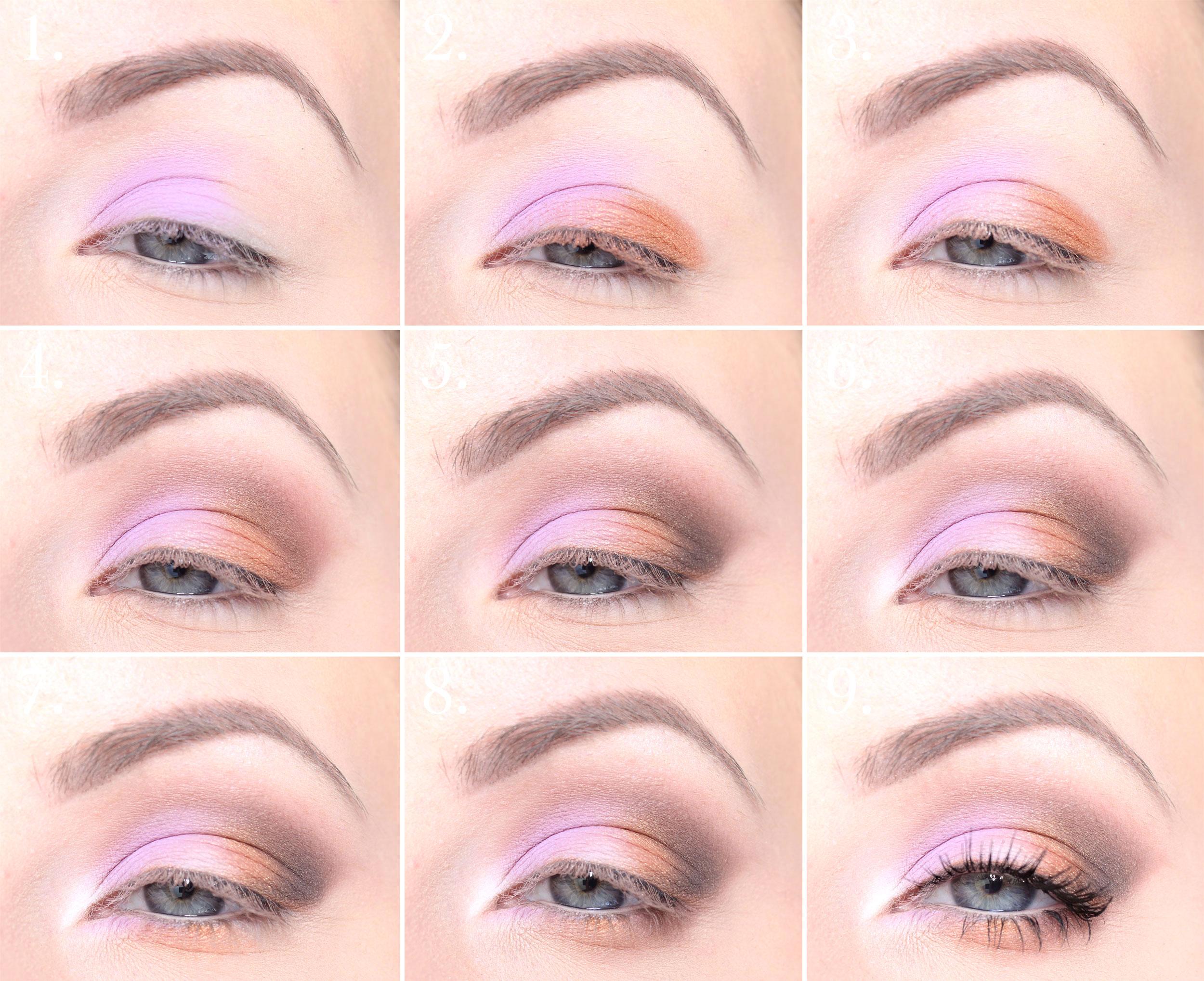 maquillaje colorido paso a paso