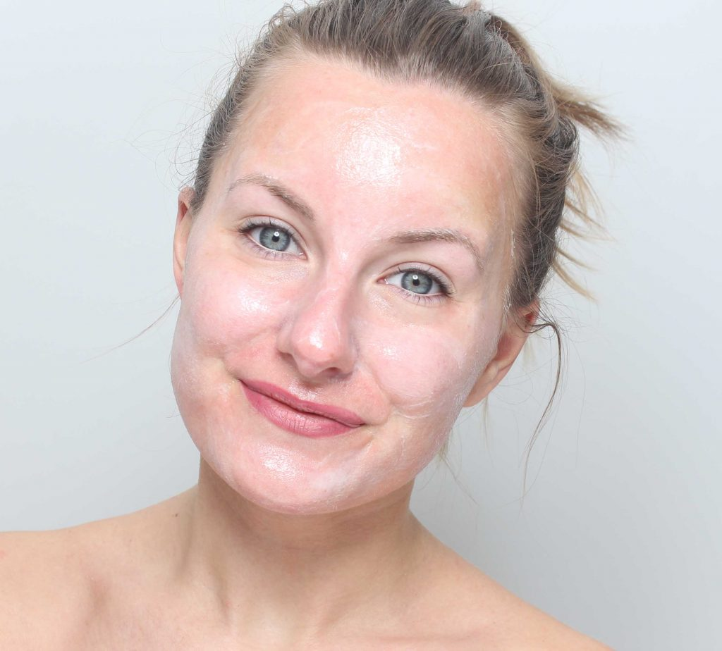 indy beauty fukt ansiktsmask recension The Moisturising Bomb Facial Mask
