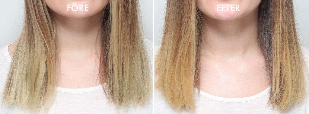 bli av med grönt hår