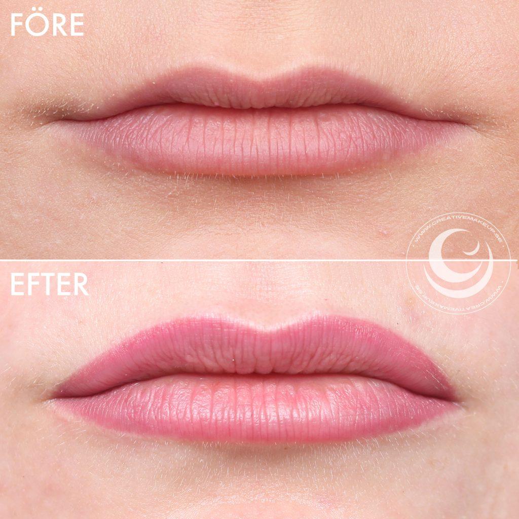My lip tattoo - Para tatuar los labios antes y después