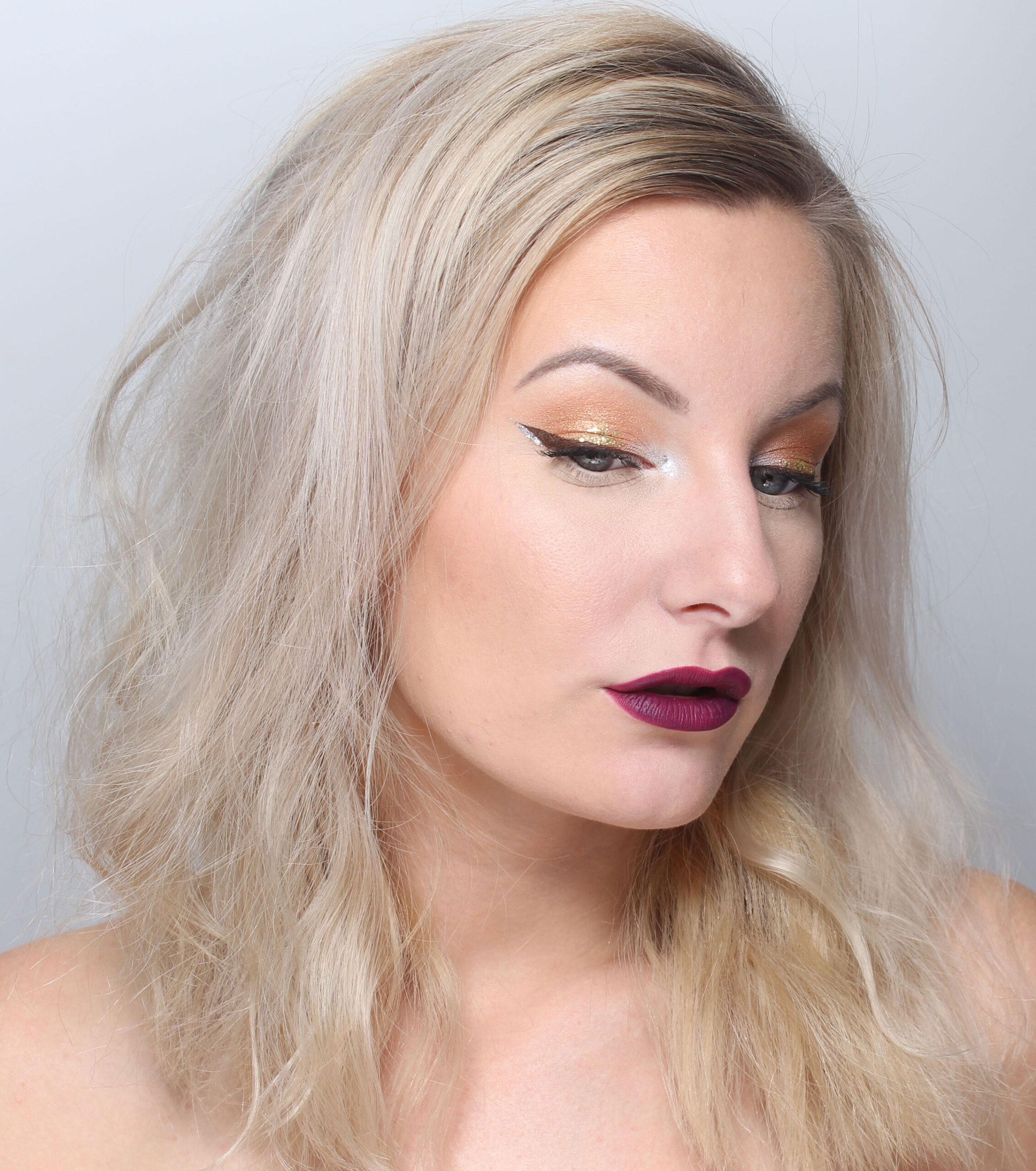 Gold   Silver makeup  c66c948c4a956
