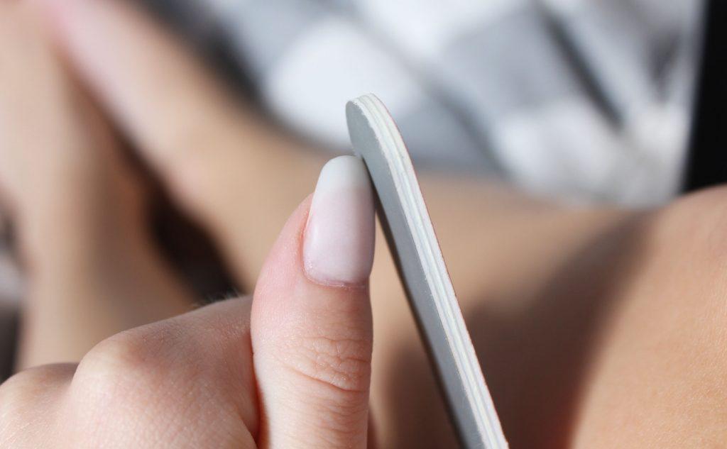 file nails at home