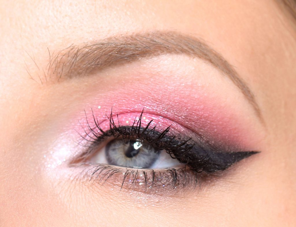 pink new year makeup step by step