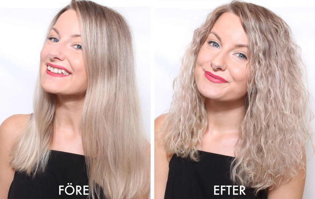 permanenta håret