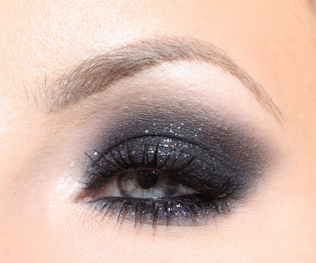 smokey eyes new year make up step by step