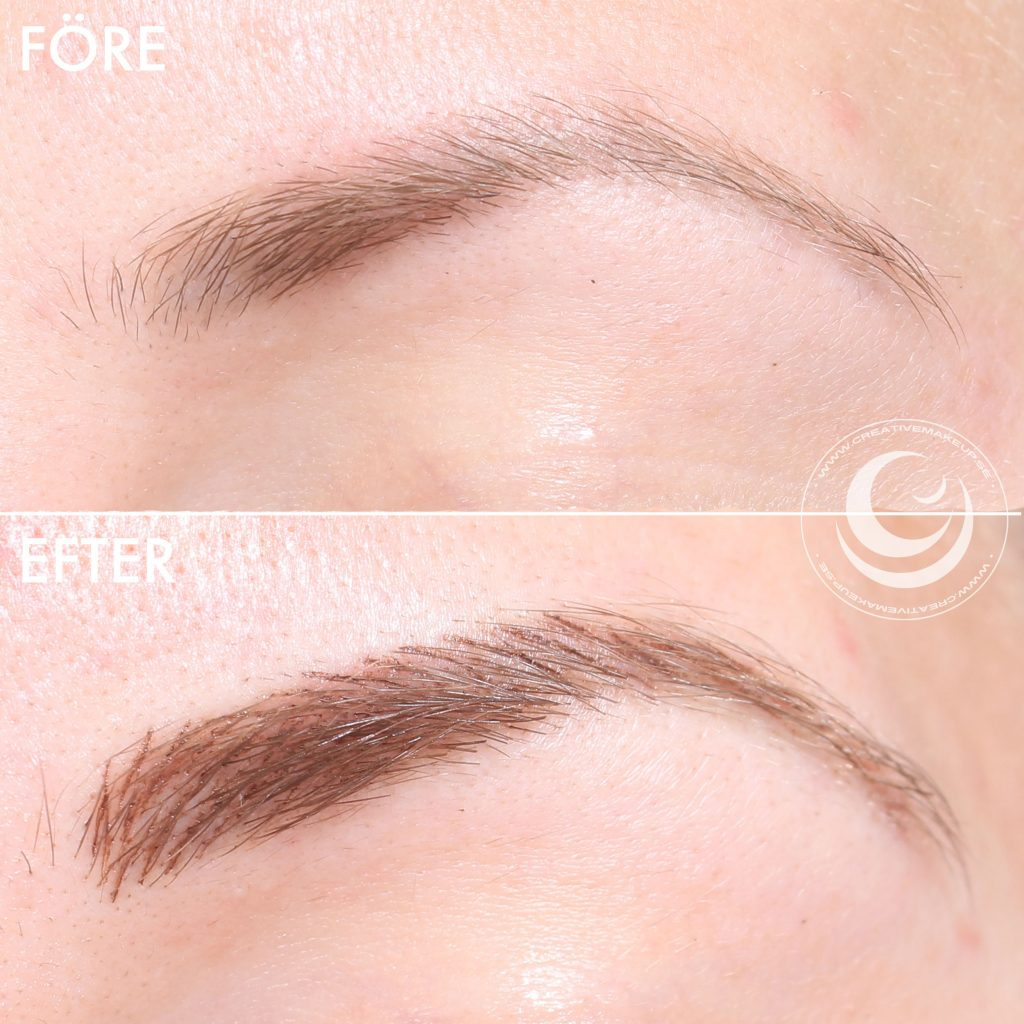 Tattooed eyebrows - the healing time before and after