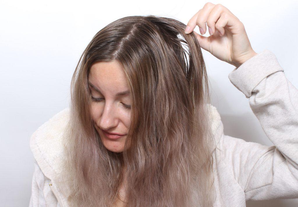 cabello limpio