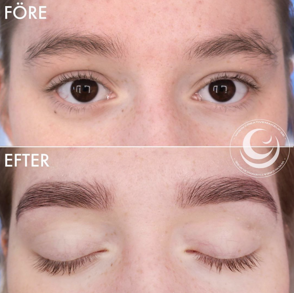 brow lamination eyebrows