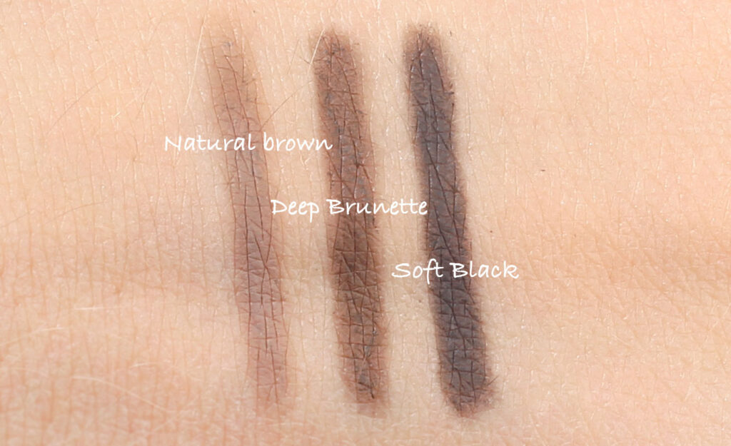 Natural Brow Duo natural brown, deep brunette, soft black
