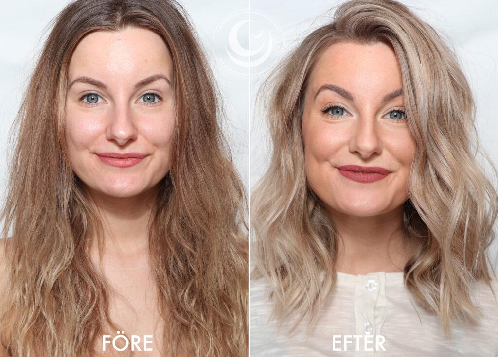 Makeover före och efter