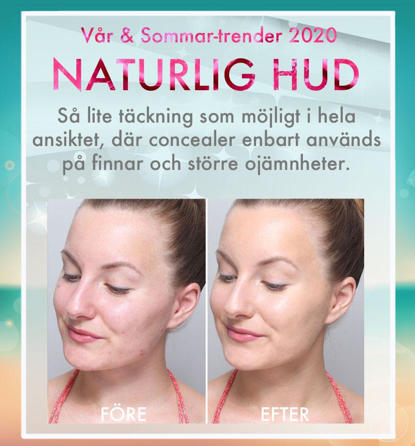 Tendencias de maquillaje piel natural