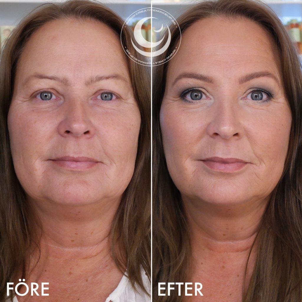 Curso de maquillaje online antes y después