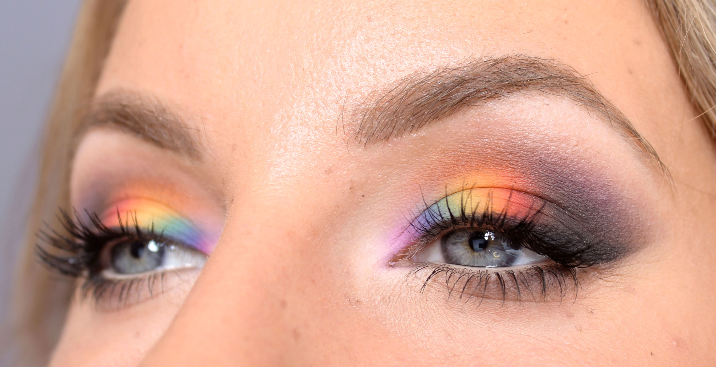 Rainbow makeup tutorial pride