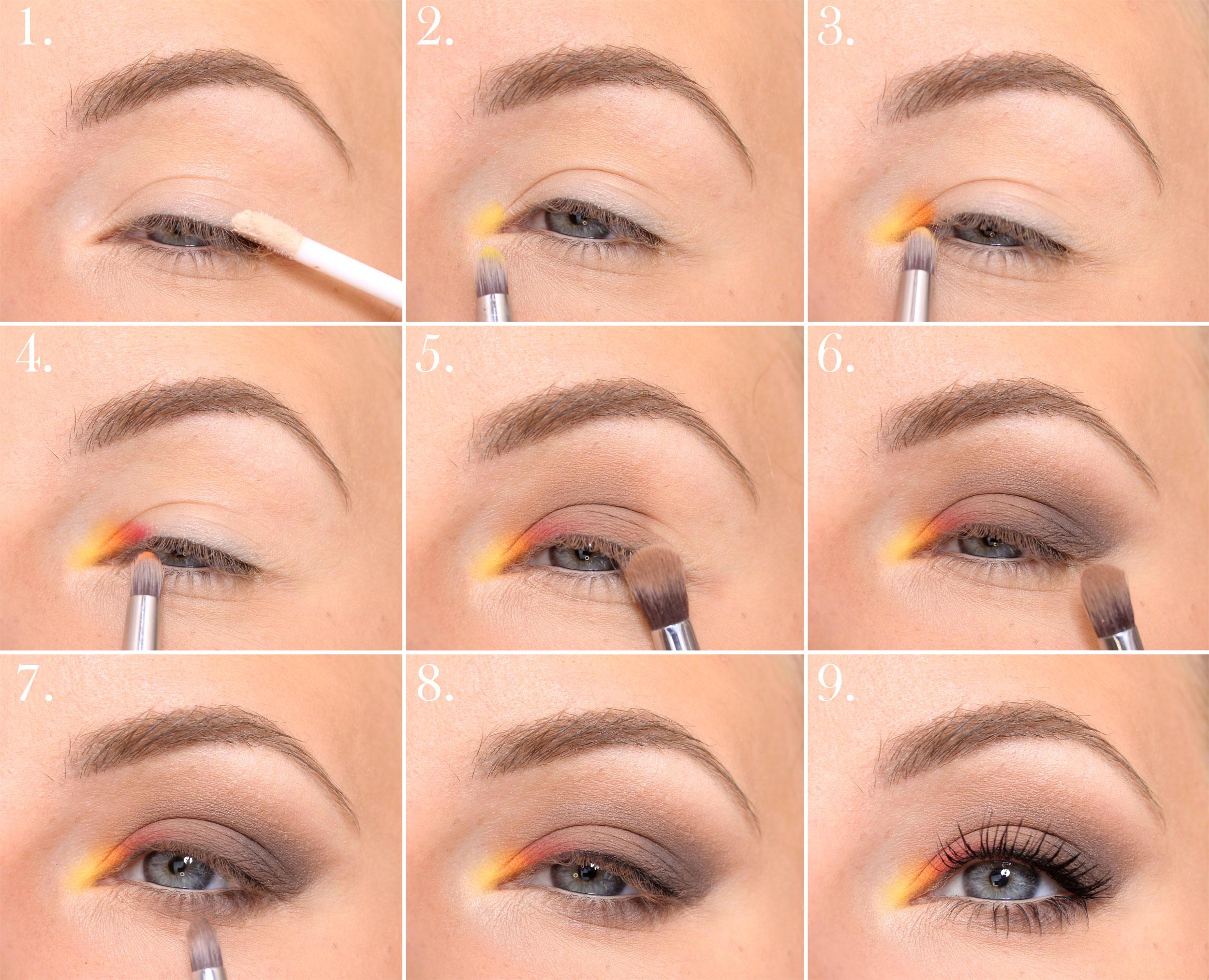 maquillaje de otoño paso a paso