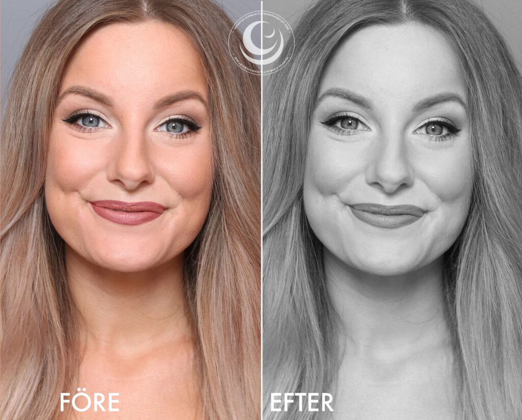 make-up for passports / driving licenses