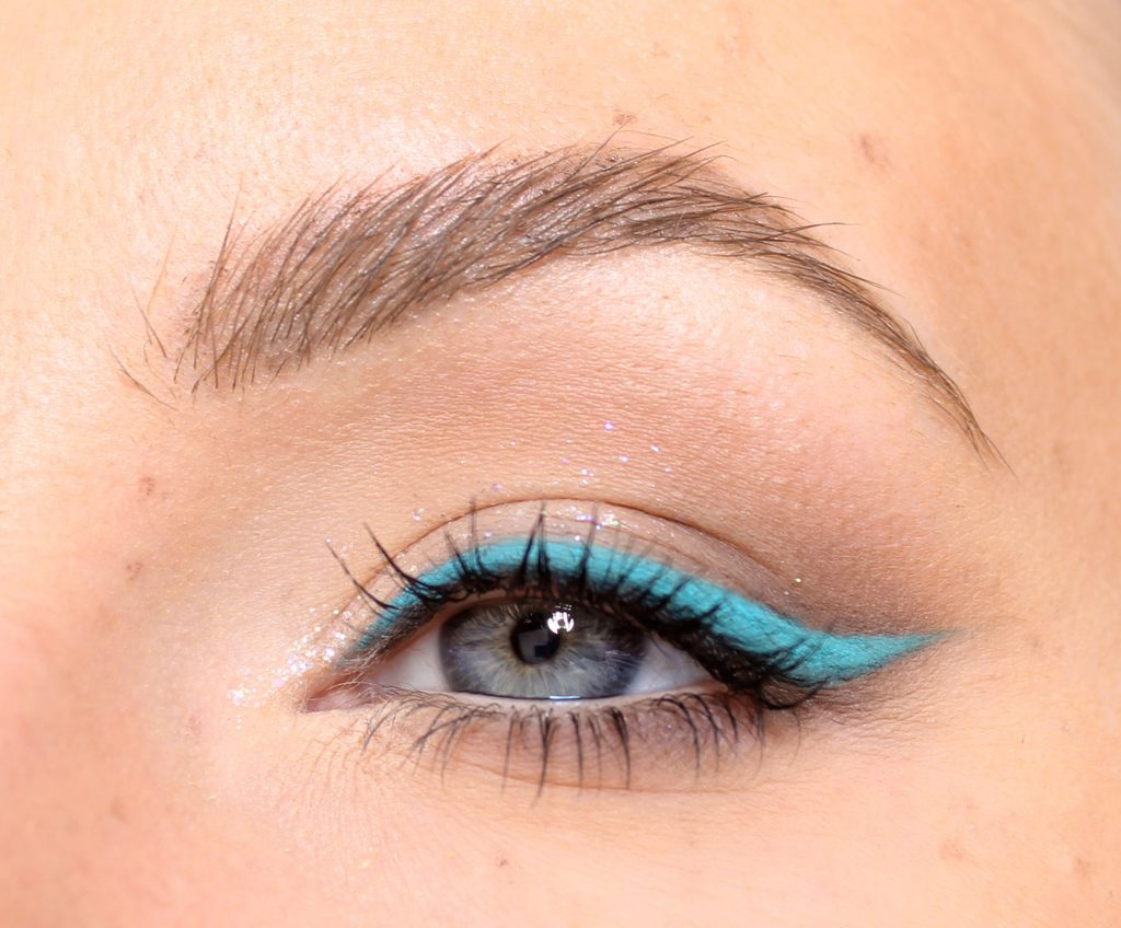 colorful eyeliner makeup