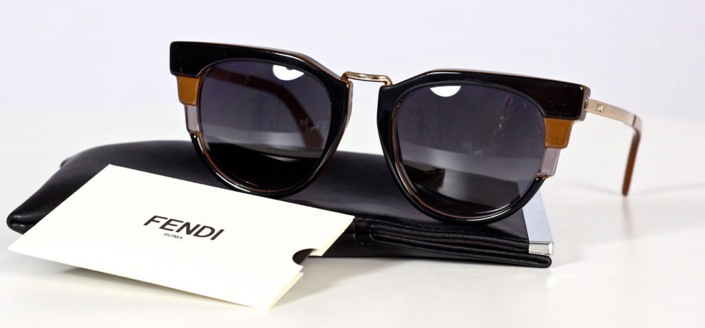 fendi eye wear sunglasses solglasögon
