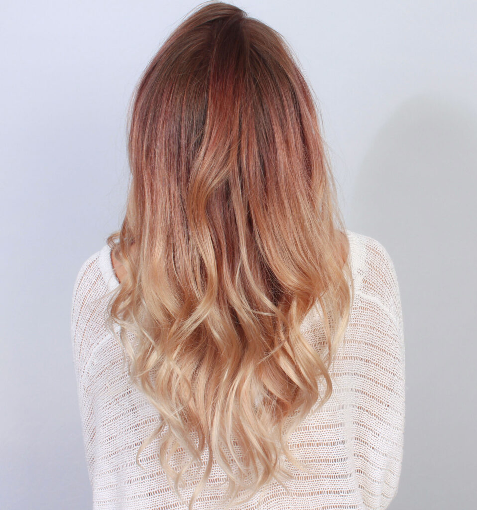 ombre brombre sombrío balayage