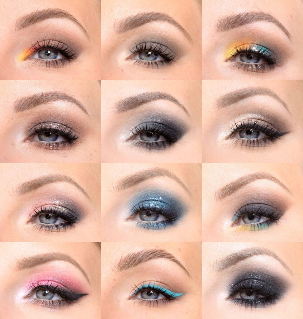 new year makeup step by step list