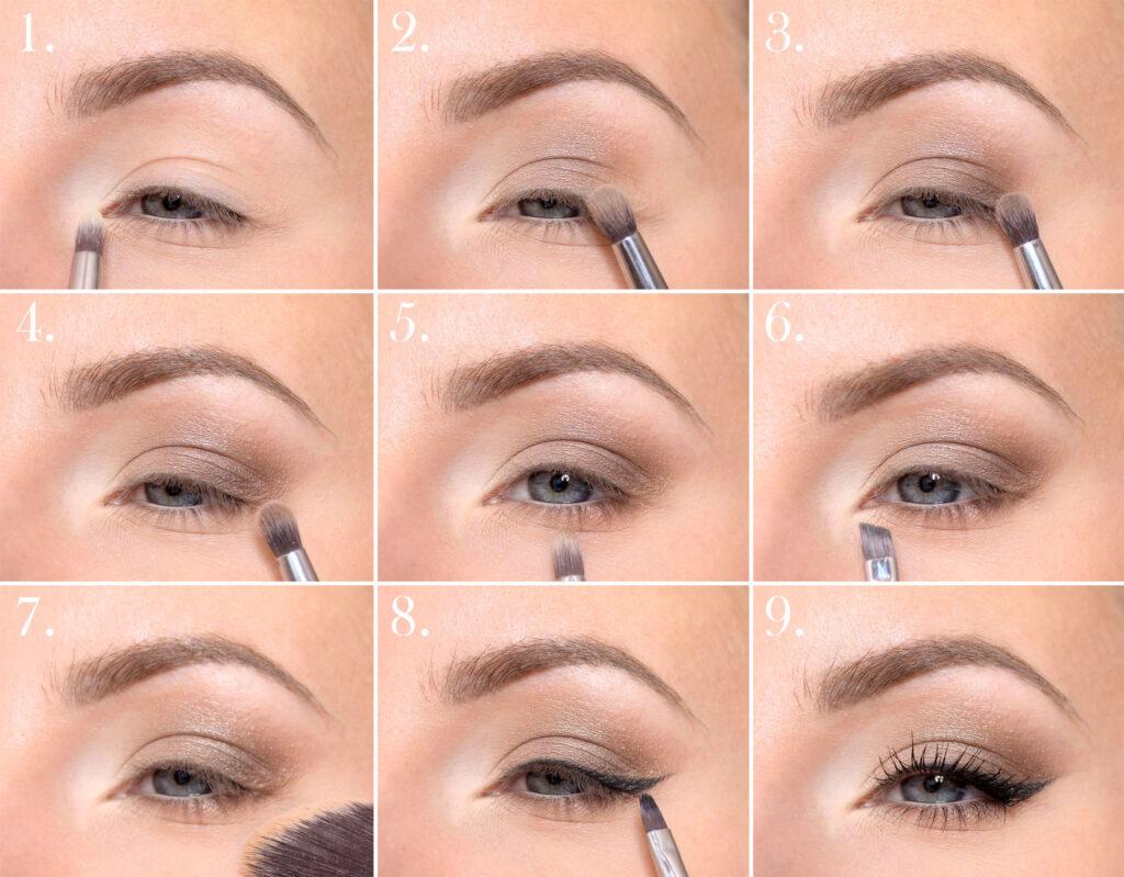 tutorial de maquillaje de ojos ariana grande delineador de ojos cat eye