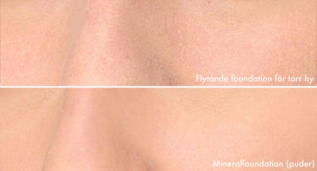 choose the right foundation, dry skin, skin, foundation, moisturizing, mineral foundation, powder foundation, crunchy texture