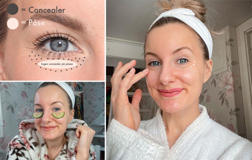 bolsas debajo de los ojos, consejos para los párpados hinchados, cómo eliminar las ojeras debajo de los ojos,