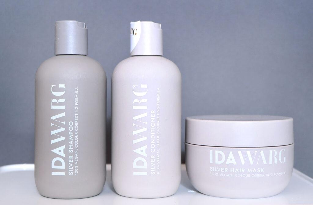 ida warg schampo, ida warg recension, produkter, kroppsvård, hårvård, repair, vitalizing, silver, prisvärd, tips, sminktips