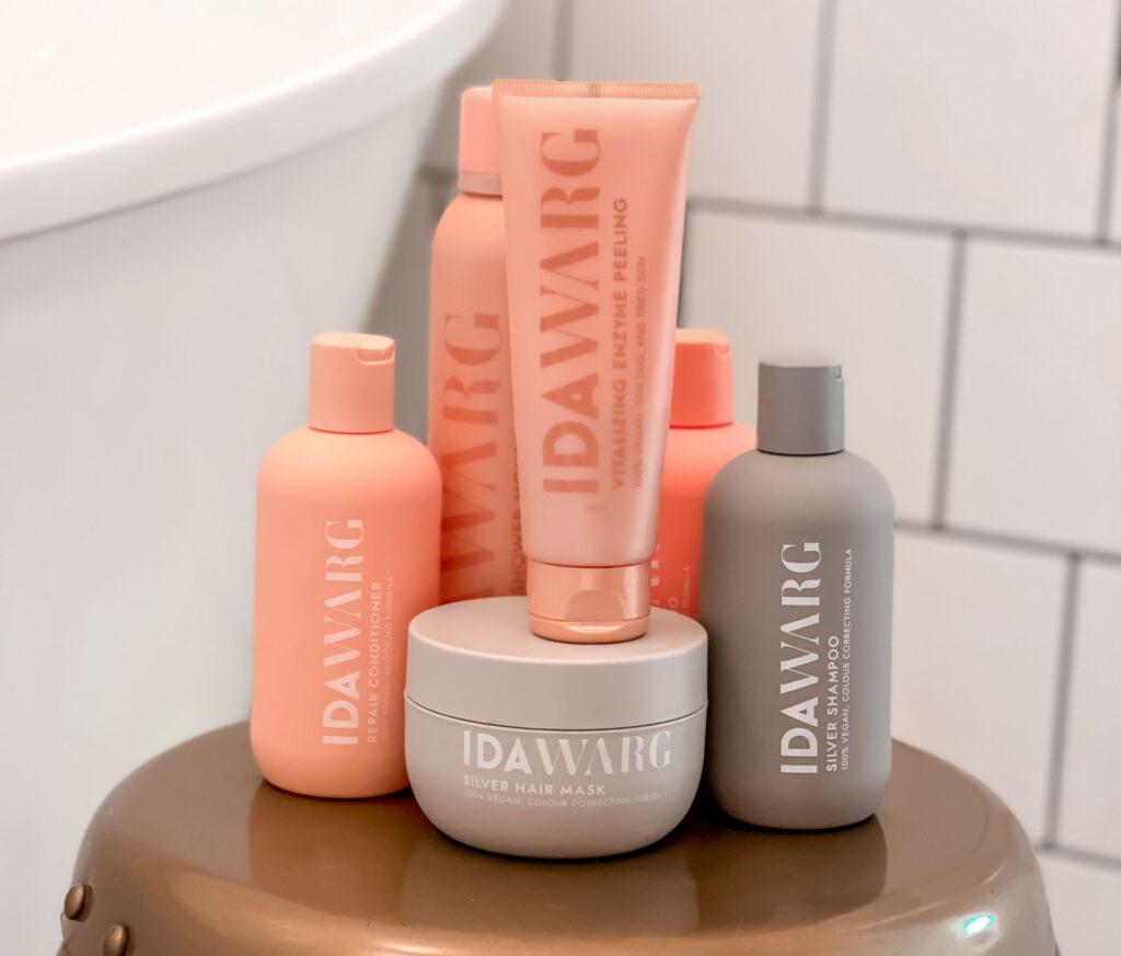 ida warg schampo, ida warg recension, produkter, kroppsvård, hårvård, repair, vitalizing, prisvärd, tips, sminktips