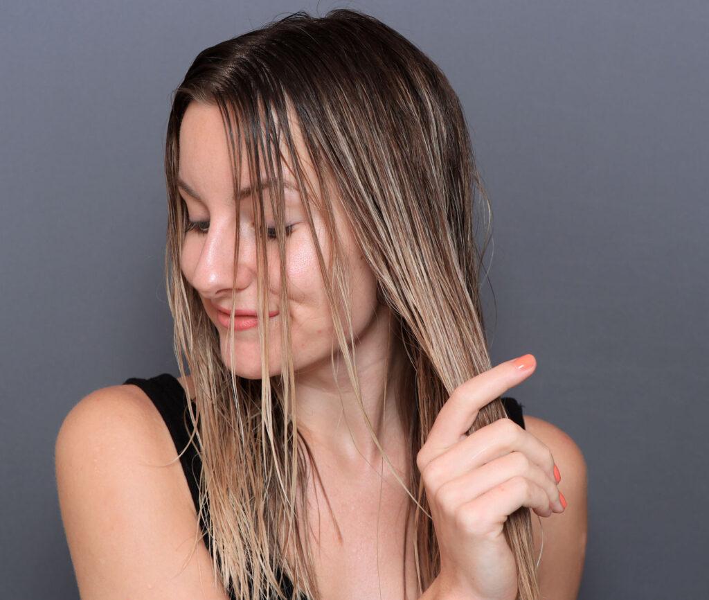 löwengrip level up volumizing lotion, recension, leave in, blött hår