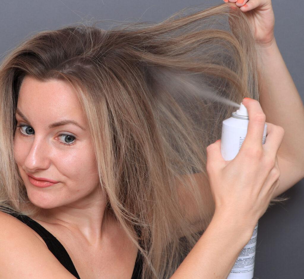 texturspray, DS, parfymfri, hårvård, hårspray, volym i håret